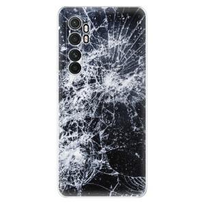 Odolné silikonové pouzdro iSaprio - Cracked na mobil Xiaomi Mi Note 10 Lite