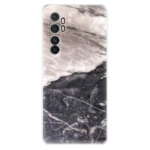 Odolné silikonové pouzdro iSaprio - BW Marble na mobil Xiaomi Mi Note 10 Lite