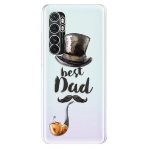 Odolné silikonové pouzdro iSaprio - Best Dad na mobil Xiaomi Mi Note 10 Lite