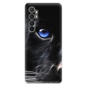 Odolné silikonové pouzdro iSaprio - Black Puma na mobil Xiaomi Mi Note 10 Lite
