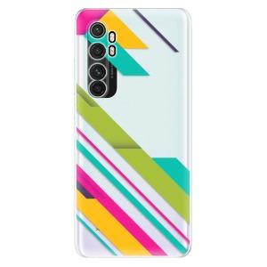 Odolné silikonové pouzdro iSaprio - Color Stripes 03 na mobil Xiaomi Mi Note 10 Lite