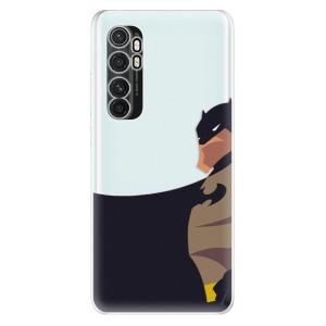 Odolné silikonové pouzdro iSaprio - BaT Comics na mobil Xiaomi Mi Note 10 Lite