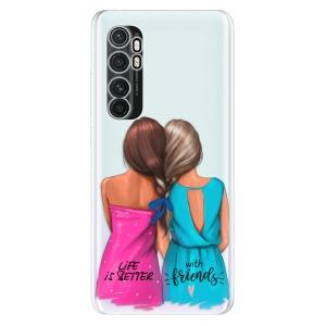 Odolné silikonové pouzdro iSaprio - Best Friends na mobil Xiaomi Mi Note 10 Lite