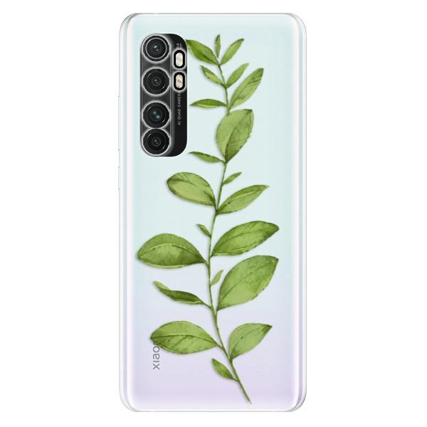 Odolné silikonové pouzdro iSaprio - Green Plant 01 - Xiaomi Mi Note 10 Lite
