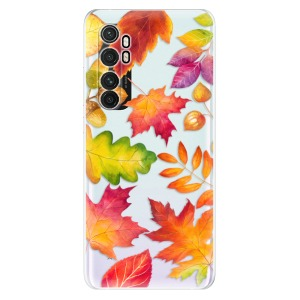 Odolné silikonové pouzdro iSaprio - Autumn Leaves 01 na mobil Xiaomi Mi Note 10 Lite