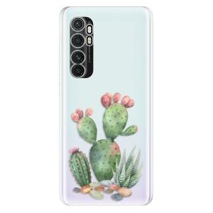 Odolné silikonové pouzdro iSaprio - Cacti 01 na mobil Xiaomi Mi Note 10 Lite