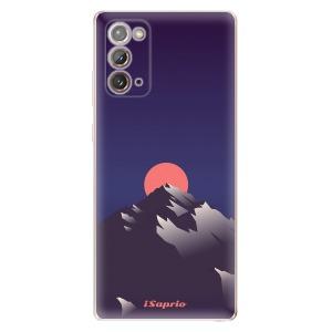 Odolné silikonové pouzdro iSaprio - Mountains 04 na mobil Samsung Galaxy Note 20 - poslední kousek za tuto cenu