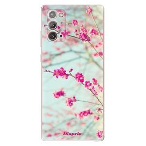 Odolné silikonové pouzdro iSaprio - Blossom 01 na mobil Samsung Galaxy Note 20