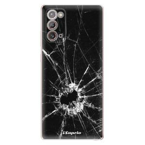 Odolné silikonové pouzdro iSaprio - Broken Glass 10 na mobil Samsung Galaxy Note 20