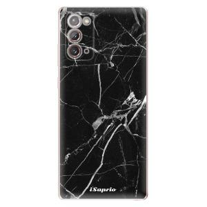Odolné silikonové pouzdro iSaprio - Black Marble 18 na mobil Samsung Galaxy Note 20