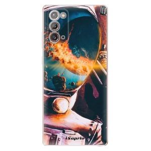 Odolné silikonové pouzdro iSaprio - Astronaut 01 na mobil Samsung Galaxy Note 20