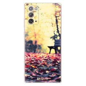 Odolné silikonové pouzdro iSaprio - Bench 01 na mobil Samsung Galaxy Note 20