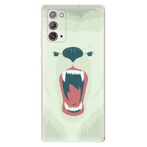 Odolné silikonové pouzdro iSaprio - Angry Bear na mobil Samsung Galaxy Note 20