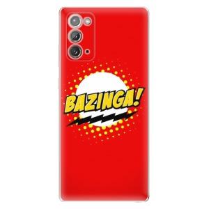 Odolné silikonové pouzdro iSaprio - Bazinga 01 na mobil Samsung Galaxy Note 20