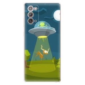 Odolné silikonové pouzdro iSaprio - Alien 01 na mobil Samsung Galaxy Note 20