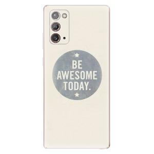 Odolné silikonové pouzdro iSaprio - Awesome 02 na mobil Samsung Galaxy Note 20