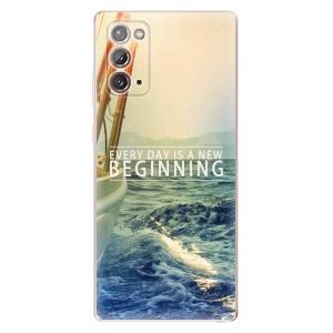 Odolné silikonové pouzdro iSaprio - Beginning na mobil Samsung Galaxy Note 20