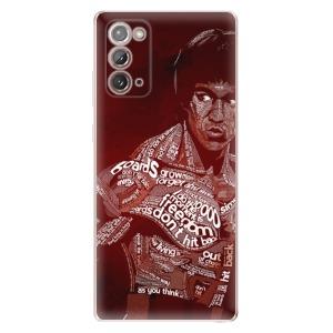Odolné silikonové pouzdro iSaprio - Bruce Lee na mobil Samsung Galaxy Note 20