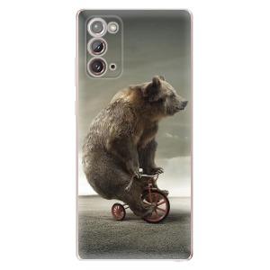 Odolné silikonové pouzdro iSaprio - Bear 01 na mobil Samsung Galaxy Note 20