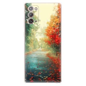 Odolné silikonové pouzdro iSaprio - Autumn 03 na mobil Samsung Galaxy Note 20