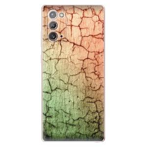 Odolné silikonové pouzdro iSaprio - Cracked Wall 01 na mobil Samsung Galaxy Note 20