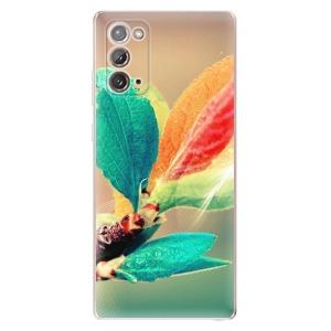 Odolné silikonové pouzdro iSaprio - Autumn 02 na mobil Samsung Galaxy Note 20