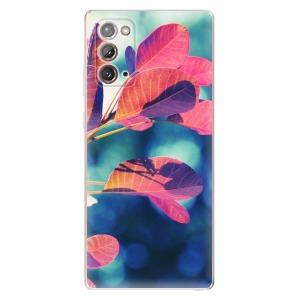 Odolné silikonové pouzdro iSaprio - Autumn 01 na mobil Samsung Galaxy Note 20