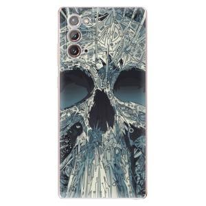 Odolné silikonové pouzdro iSaprio - Abstract Skull na mobil Samsung Galaxy Note 20