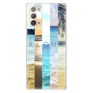 Odolné silikonové pouzdro iSaprio - Aloha 02 na mobil Samsung Galaxy Note 20