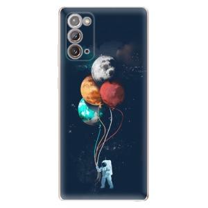 Odolné silikonové pouzdro iSaprio - Balloons 02 na mobil Samsung Galaxy Note 20