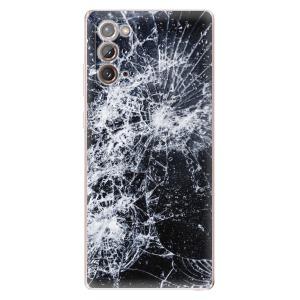 Odolné silikonové pouzdro iSaprio - Cracked na mobil Samsung Galaxy Note 20