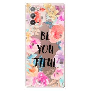 Odolné silikonové pouzdro iSaprio - BeYouTiful na mobil Samsung Galaxy Note 20