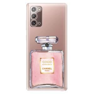 Odolné silikonové pouzdro iSaprio - Chanel Rose na mobil Samsung Galaxy Note 20
