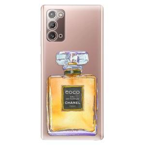 Odolné silikonové pouzdro iSaprio - Chanel Gold na mobil Samsung Galaxy Note 20