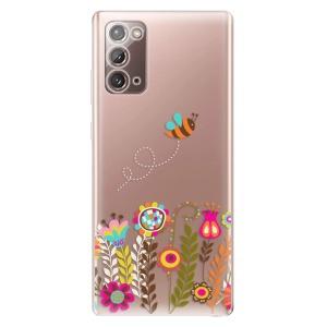 Odolné silikonové pouzdro iSaprio - Bee 01 na mobil Samsung Galaxy Note 20