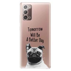 Odolné silikonové pouzdro iSaprio - Better Day 01 na mobil Samsung Galaxy Note 20