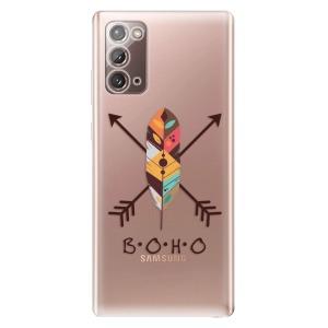 Odolné silikonové pouzdro iSaprio - BOHO na mobil Samsung Galaxy Note 20