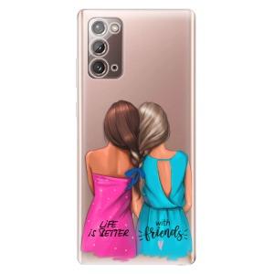 Odolné silikonové pouzdro iSaprio - Best Friends na mobil Samsung Galaxy Note 20