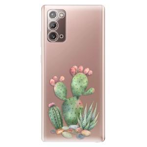 Odolné silikonové pouzdro iSaprio - Cacti 01 na mobil Samsung Galaxy Note 20