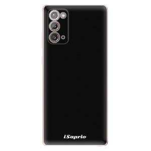 Odolné silikonové pouzdro iSaprio - 4Pure - černé na mobil Samsung Galaxy Note 20