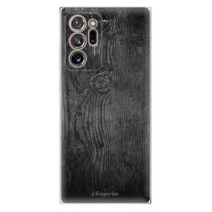 Odolné silikonové pouzdro iSaprio - Black Wood 13 na mobil Samsung Galaxy Note 20 Ultra