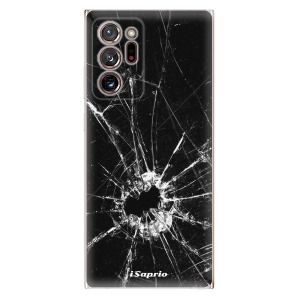 Odolné silikonové pouzdro iSaprio - Broken Glass 10 na mobil Samsung Galaxy Note 20 Ultra