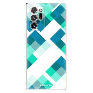 Odolné silikonové pouzdro iSaprio - Abstract Squares 11 na mobil Samsung Galaxy Note 20 Ultra