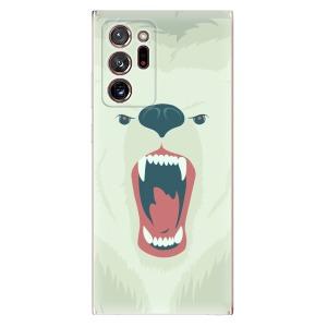 Odolné silikonové pouzdro iSaprio - Angry Bear na mobil Samsung Galaxy Note 20 Ultra
