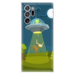 Odolné silikonové pouzdro iSaprio - Alien 01 na mobil Samsung Galaxy Note 20 Ultra