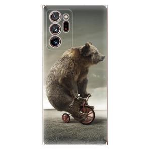 Odolné silikonové pouzdro iSaprio - Bear 01 na mobil Samsung Galaxy Note 20 Ultra