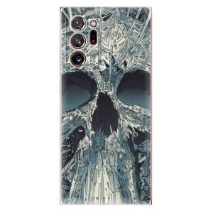 Odolné silikonové pouzdro iSaprio - Abstract Skull na mobil Samsung Galaxy Note 20 Ultra