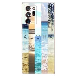 Odolné silikonové pouzdro iSaprio - Aloha 02 na mobil Samsung Galaxy Note 20 Ultra