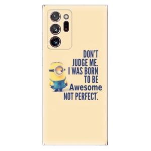 Odolné silikonové pouzdro iSaprio - Be Awesome na mobil Samsung Galaxy Note 20 Ultra