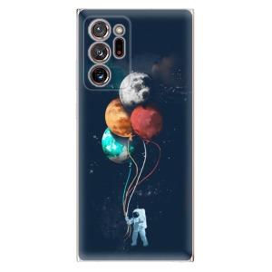 Odolné silikonové pouzdro iSaprio - Balloons 02 na mobil Samsung Galaxy Note 20 Ultra